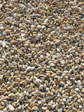 Sunlit Pebbles Royalty Free Stock Photography