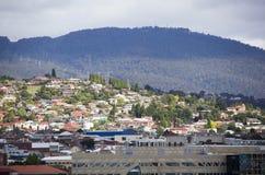 Tasmania`s Hobart Town Residential District Stock Photos