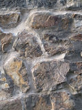 Sunlit Rock Wall. Royalty Free Stock Photography