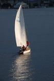 Sunlit Sail Stock Image