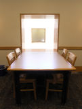 Sunlit Table Royalty Free Stock Image