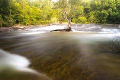 sunlit waterfall Стоковое Фото