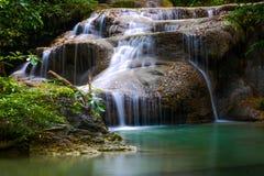 sunlit waterfall Стоковое фото RF