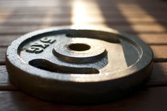 Sunlit Weight Royalty Free Stock Photo