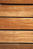 Frontal Wooden Deck Stock Photos