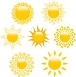 SunLogo Imagens de Stock