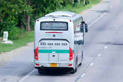 Sunlong Bus of Green bus Company. Between Chiangmai and Phuket. Stock Image