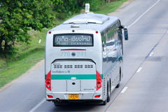Sunlong Bus of Green bus Company. Between Chiangmai and Phuket. Stock Photos