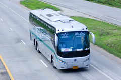 Sunlong Bus of Green bus Company. Between Chiangmai and Phuket. Stock Photography