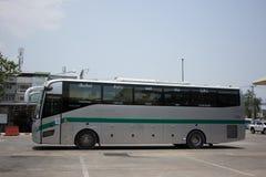 Sunlong Bus of Green bus Company. Between Chiangmai and Thungcha Royalty Free Stock Image