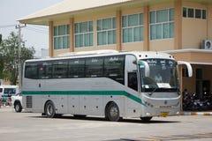 Sunlong Bus of Green bus Company. Between Chiangmai and Thungcha Royalty Free Stock Photos
