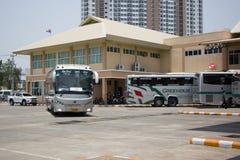 Sunlong Bus of Green bus Company. Between Chiangmai and Thungcha Stock Photos