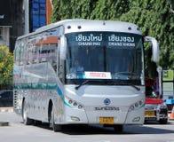 Sunlong Bus of Greenbus Company. Royalty Free Stock Image