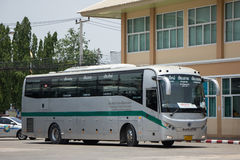 Sunlong Bus of Greenbus Company. Route Between Chiangmai and Chi Royalty Free Stock Image