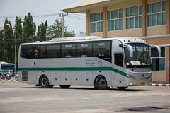 Sunlong Bus of Greenbus Company. Route  Between Chiangmai and Ma Stock Images
