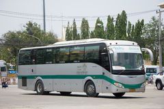 Sunlong Bus of Greenbus Company. VIP Bus Route Between Chiangmai Royalty Free Stock Photos