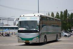 Sunlong Bus of Greenbus Company. VIP Bus Route Between Chiangmai Stock Photos