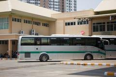 Sunlong Bus of Greenbus Company. VIP Bus Route Between Chiangmai Royalty Free Stock Photos