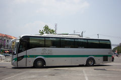 Sunlong Bus of Greenbus Company. VIP Bus Route Between Chiangmai. CHIANG MAI, THAILAND -MAY 1 2017:  Sunlong Bus of Greenbus Company. VIP Bus Route Between Stock Images