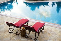 Sunlounger, Furniture, Outdoor Furniture, Table royalty free stock image
