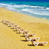 Ses Illetes Beach in Formentera, Balearic Islands, Spain Royalty Free Stock Photo