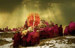 Sunning of the Buddha Royalty Free Stock Photos