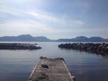 Sunnmøre del fjørtoft de Noruega Foto de archivo libre de regalías