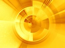 Sunny abstract. Abstraction illustration Royalty Free Stock Photo