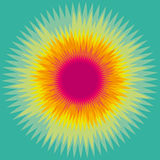 Sunny Abstract Background coloré illustration libre de droits