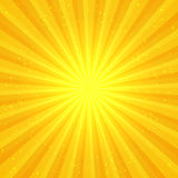 Sunny abstract background. Abstract background with sun rays. Editable vector illustration Royalty Free Illustration