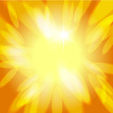 Sunny abstract background. Sunny warm yellow abstract background Stock Photography