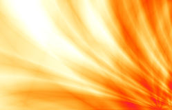 Sunny abstract orange fun graphic design. Elegant orange wave abstract wallpaper design royalty free illustration