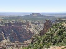 Grand Canyon in Arizona. Sunny aerial view at the Grand Canyon National Park in Arizona, USA Stock Photos