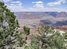 Grand Canyon in Arizona. Sunny aerial view at the Grand Canyon National Park in Arizona, USA Royalty Free Stock Image