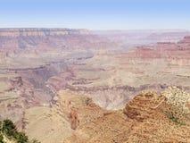 Grand Canyon in Arizona. Sunny aerial view at the Grand Canyon National Park in Arizona, USA Stock Image