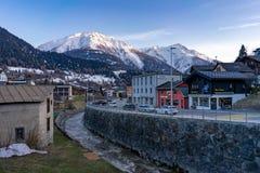 Sunny Afternoon est Fiesch Suisse images libres de droits