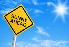 Sunny Ahead Stock Photography
