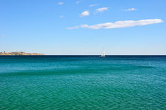 Sunny Alicante coast Royalty Free Stock Images