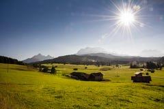 Sunny Alps Royalty Free Stock Image