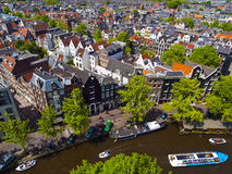 Sunny Amsterdam Stock Images