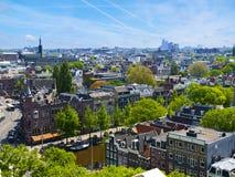 Sunny Amsterdam Royalty Free Stock Photography