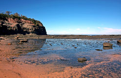 Sunny Australian Coastline Stock Photography