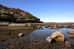 Sunny Australian Coastline Royalty Free Stock Photography