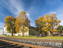 Sunny Autumn fotografia stock