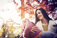 Sunny autumn day. royalty free stock photos