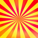 Sunny Background. A cheerful background of red and yellow rays. Please visit my portfolio for more Royalty Free Stock Images