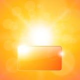 Sunny background Royalty Free Stock Photo