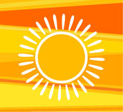 Sunny background Royalty Free Stock Images