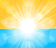 Sunny background stock illustration
