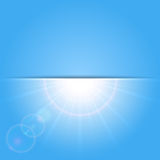 Sunny background Royalty Free Stock Photography